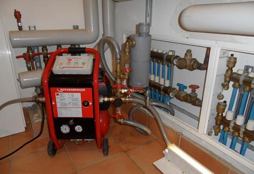 Гидродинамическая промывка системы отопления в Ногинске