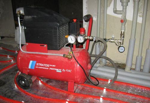 Гидропневматическая промывка системы отопления в Ногинске