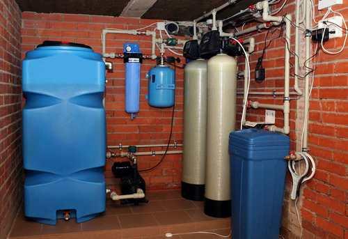 Монтаж автономного водоснабжения в Ногинске