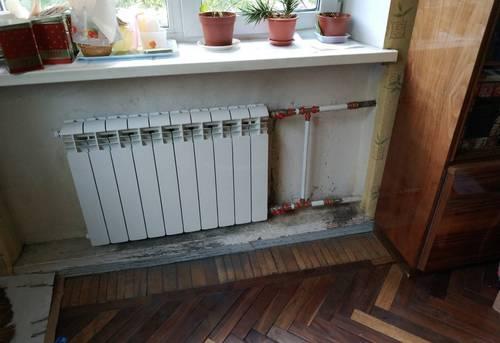 Монтаж батарей отопления в частном доме в Ногинске