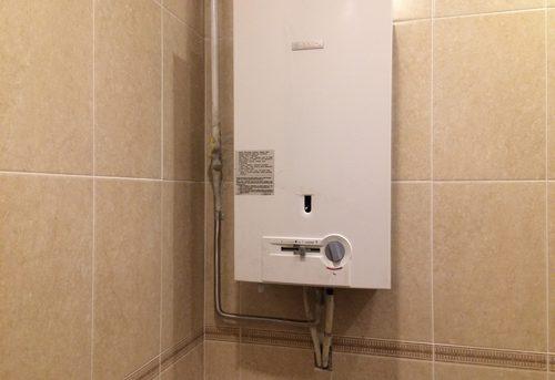 Установка газовой колонки Bosch в Ногинске