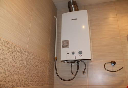 Установка газовой колонки в ванной в Ногинске