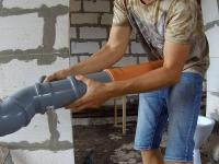Монтаж канализации на даче