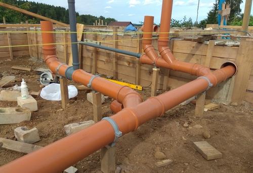 Монтаж канализации в частном доме в Ногинске