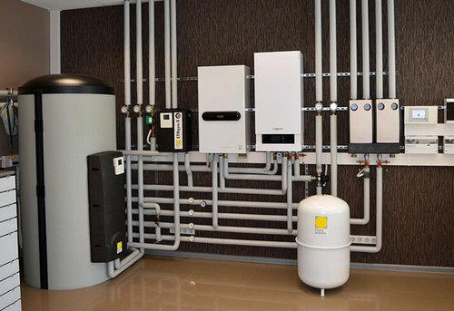 Монтаж комбинированного отопления в частном доме в Ногинске
