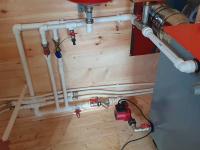 Монтаж систем отопления на даче