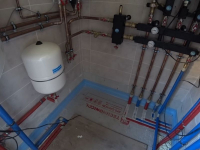 Монтаж жидкотопливного отопления в частном доме
