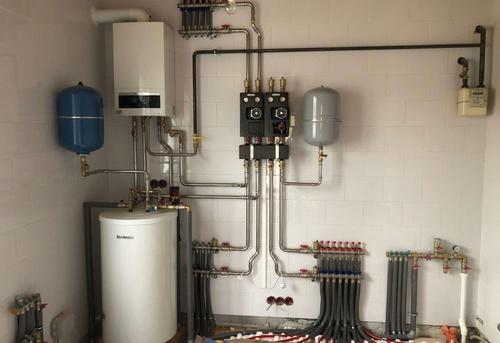 Монтаж отопления в коттедже в Ногинске
