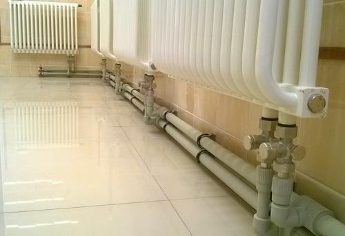 Монтаж полипропиленовых труб отопления в Ногинске