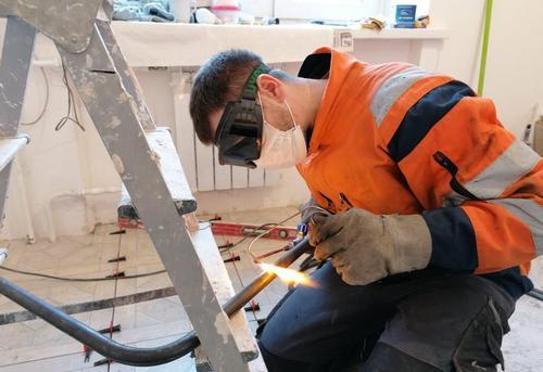 Монтаж стальных труб водоснабжения в Ногинске