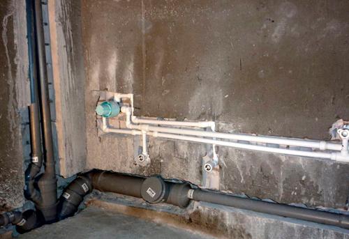 Монтаж труб канализации в ванной в Ногинске