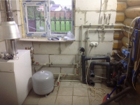 Обвязка котла отопления в квартире