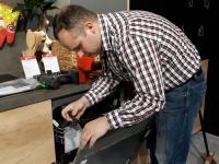 Подключение отдельно стоящей посудомоечной машины