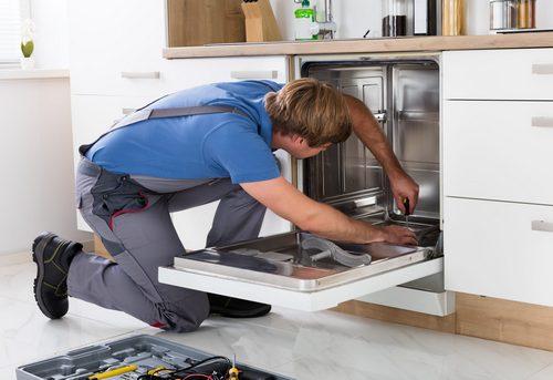 Подключение посудомоечной машины на кухне в Ногинске