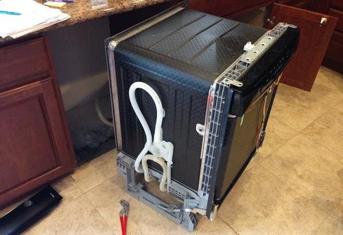 Подключение посудомоечной машины с доработкой коммуникаций в Ногинске