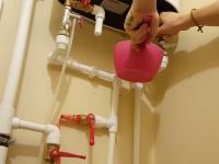 Подключение напольного водонагревателя