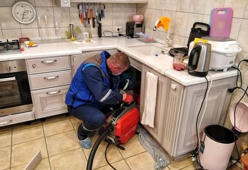 Прочистка канализации на кухне в Ногинске