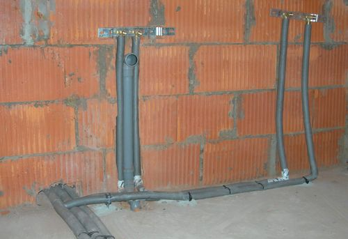 Разводка канализации на даче в Ногинске