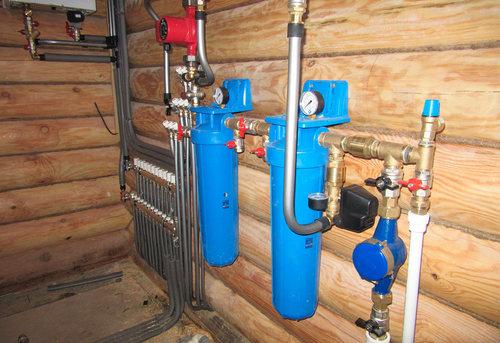 Разводка водоснабжения в частном доме в Ногинске