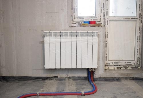 Установка биметаллического радиатора отопления в Ногинске