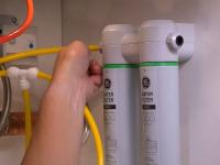 Установка фильтра тонкой очистки воды