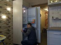 Установка холодильника Indesit