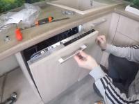 Установка посудомоечной машины Hansa