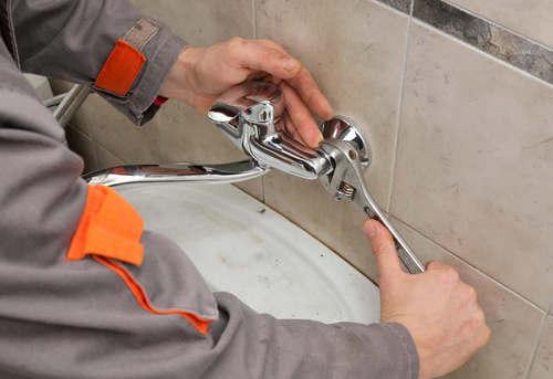 Установка смесителя в ванной в Ногинске