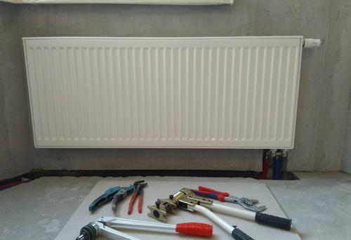 Установка стального радиатора отопления в Ногинске