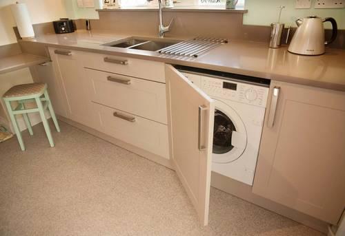 Установка стиральной машины на кухне в Ногинске