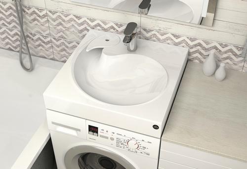 Установка стиральной машины под раковину в Ногинске