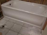 Установка и подключение чугунной ванны