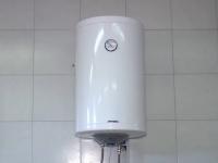 Установка водонагревателя AEG