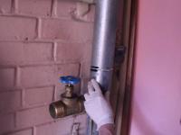 Устранение протечки канализационной трубы