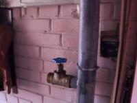 Устранение протечки водопроводной трубы