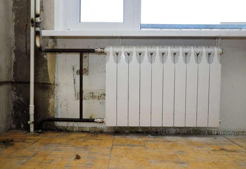 Замена биметаллического радиатора отопления в Ногинске