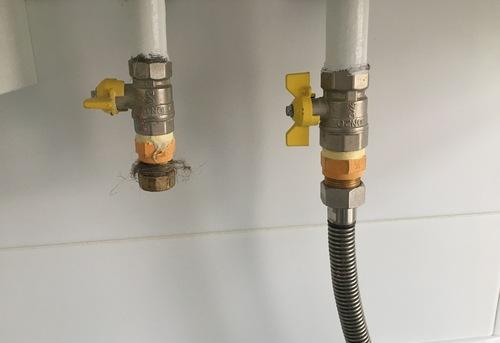 Замена гибкой подводки для газа в Ногинске