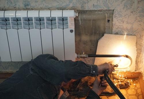 Замена отопительных труб из стали в Ногинске