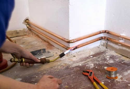 Замена отопительных труб в частном доме в Ногинске