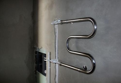 Замена полотенцесушителя с байпасом в Ногинске