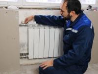 Замена радиатора отопления с установкой байпаса