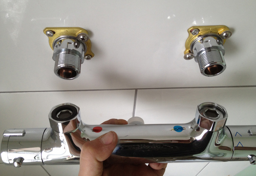 Замена смесителя с термостатом в Ногинске