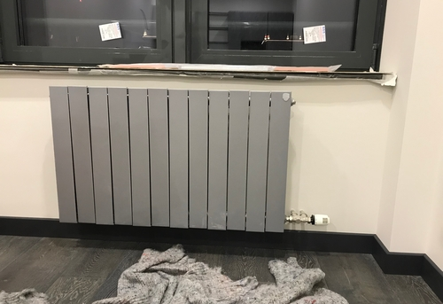 Замена стального радиатора отопления в Ногинске