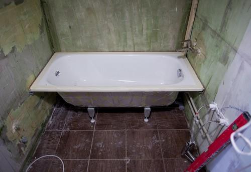 Замена стальной ванны в Ногинске