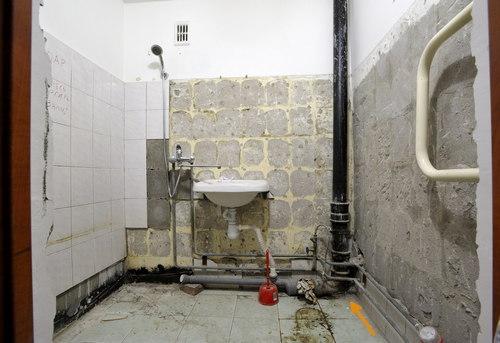 Замена стояка канализации в ванной в Ногинске