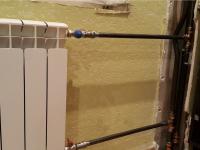 Замена металлопластикового стояка отопления