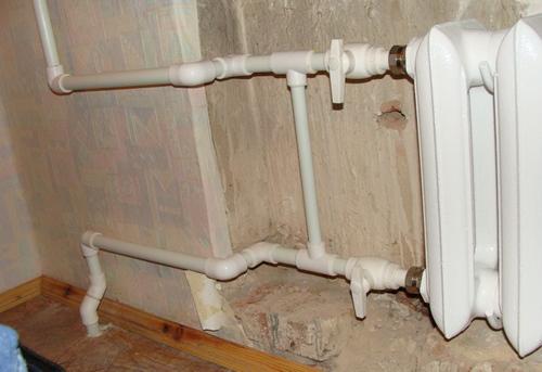 Замена стояка отопления на полипропилене в Ногинске