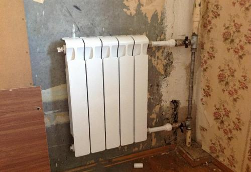 Замена стояка отопления с установкой радиатора отопления в Ногинске