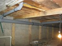 Замена чугунных канализационных труб