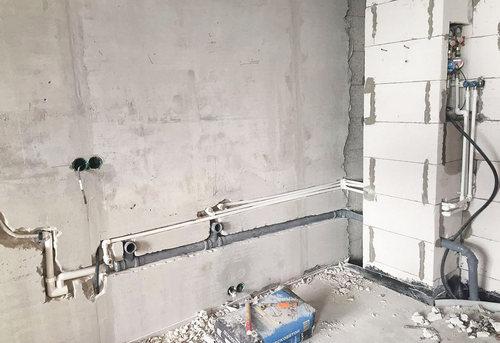 Замена труб канализации на кухне в Ногинске